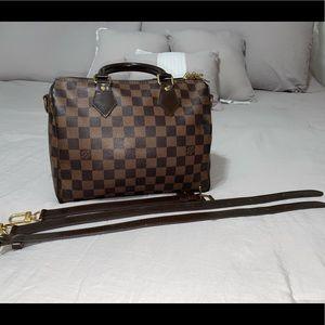 Louis Vuitton speedy bandouliere bag